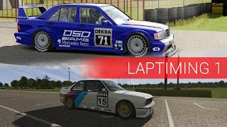 BMW M3 E30 vs Mercedes-Benz 190E Evolution II - Kakucsring
