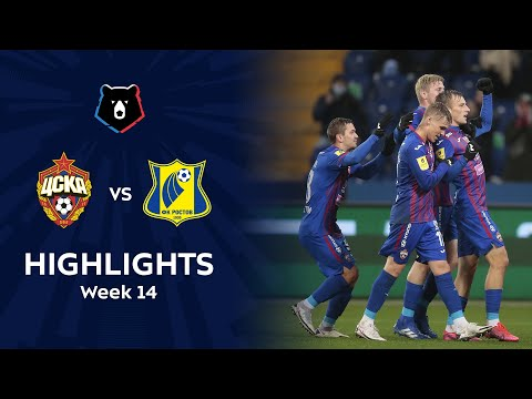 CSKA Moscow Rostov Goals And Highlights