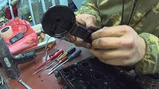 Замена мембраны клапанной крышки Opel Astra h Промывка дросселя