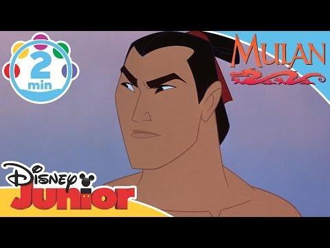 Mulan | I'll Make a Man Out of You | Disney Junior UK