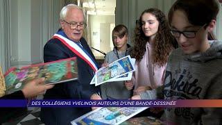 Yvelines | Des collégiens yvelinois auteurs d'une bande-dessinée