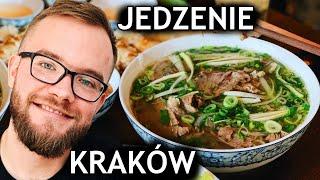 KRAKÓW: najlepsze AZJATYCKIE JEDZENIE w KRAKOWIE! Krakowskie restauracje: co zjeść? GASTRO VLOG #259