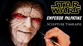 Palpatine Sculpture Timelapse - Star Wars: The Rise of Skywalker