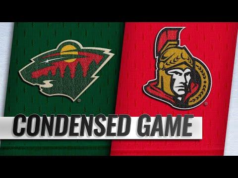 01/05/19 Condensed Game: Wild @ Senators