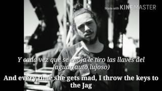Post Malone - TEAR$ (lyrics english-subtitulos español)