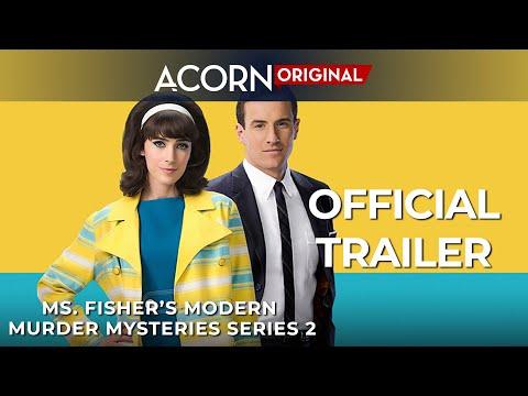Acorn TV Original | Ms. Fisher's Modern Murder Mysteries Series 2 | Official Trailer