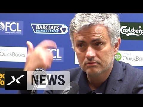 "Jose Mourinho nach Rot für Cesc Fabregas: ""Jesus Christ!"" | West Bromwich Albion - FC Chelsea 3:0"