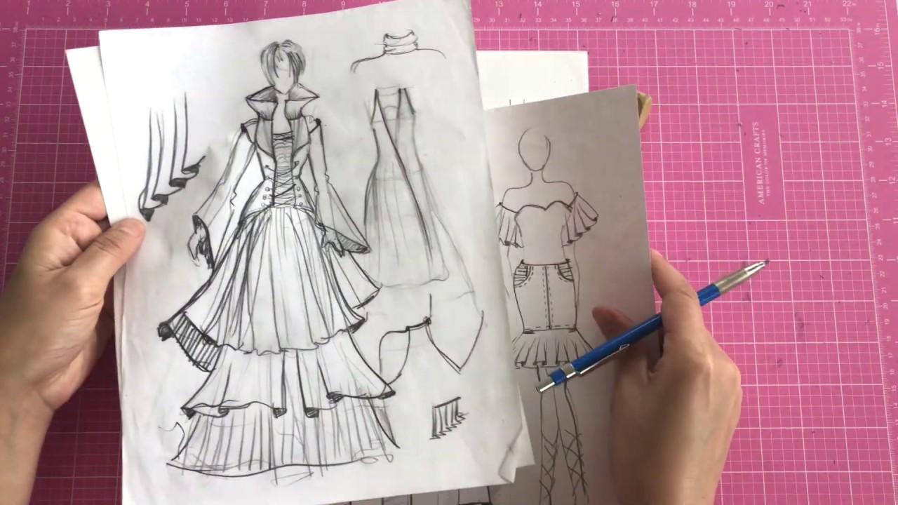 Fashion Illustration: Drawing Clothing - Part Three