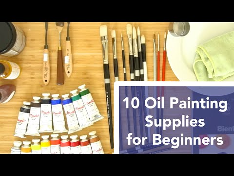 10 Oil Painting Supplies for Beginners