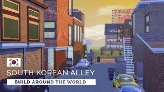 Sims 4  |  Speedbuild  |  Build Around the World - South Korea
