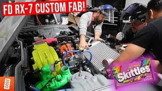 making-the-skittles-engine-bay-complete-fd-rx-7