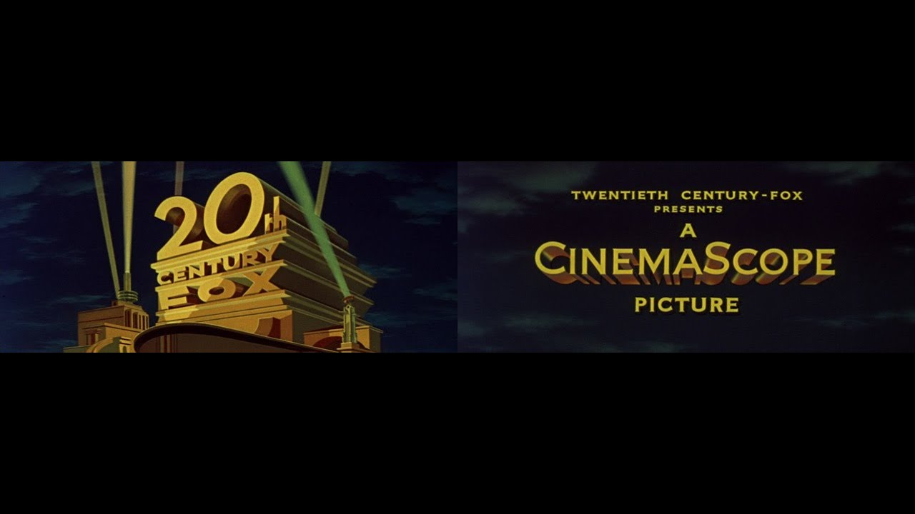 Download 20th Century Fox / A CinemaScope Picture logo (1956)