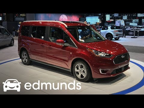 2019 Ford Transit Connect Unveil | Edmunds