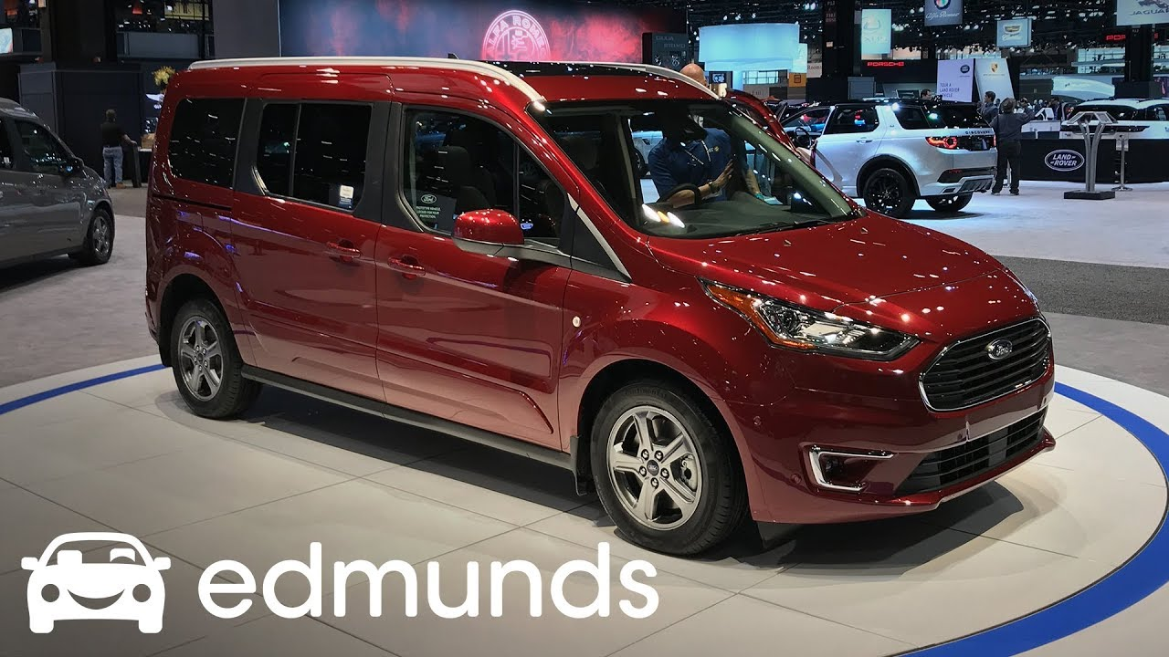 2019 ford transit connect unveil edmunds