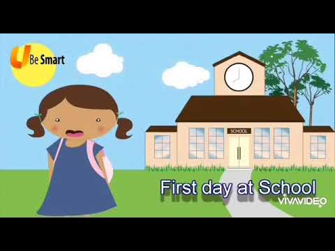 First Day At School By Aileen Fisher
