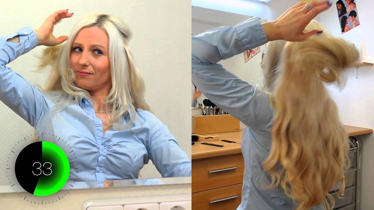 Flip In Extensions Produktvideo Haarverlngerungen Erklrvideo Youtube