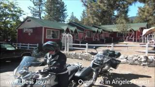 California USA part 2 on BMW R1200GS Grand Canyon route 66 to San Francisco on motorbike