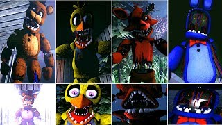 Five Nights Before Freddy's 2 (Official) ALL JUMPSCARES