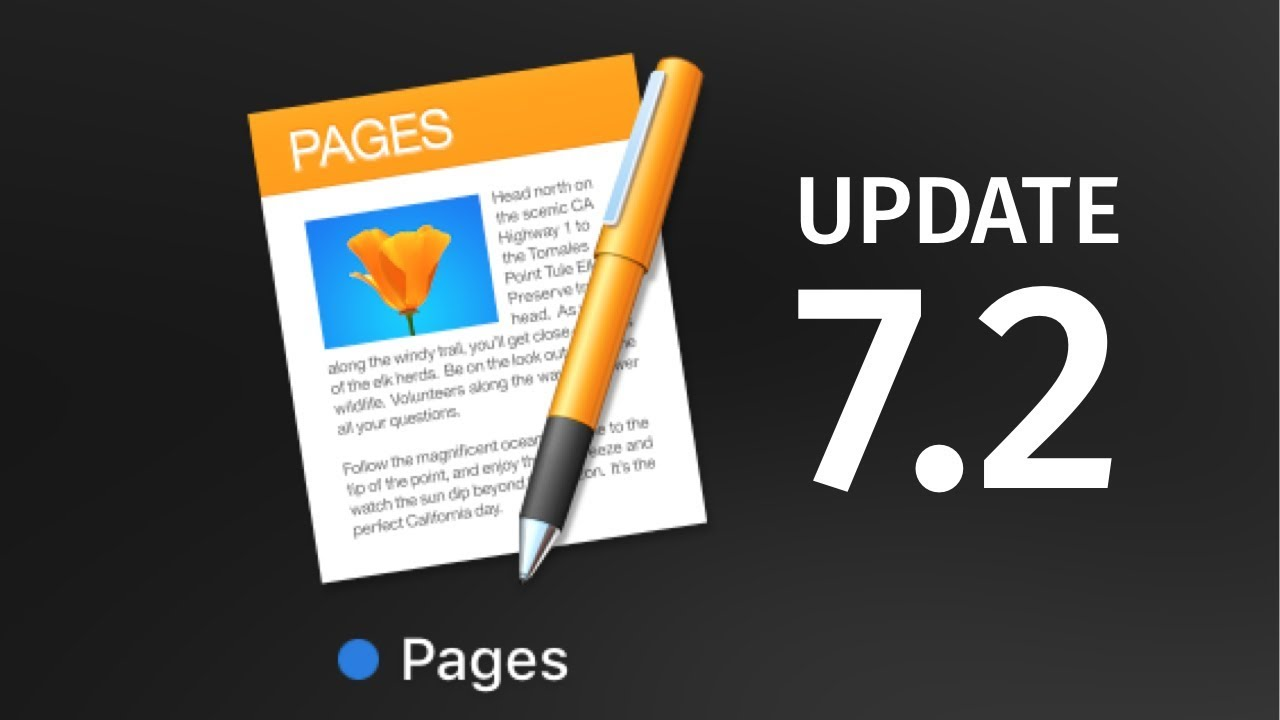 How to Update to Pages version 7 2 - Mac | MacBook Pro , iMac , Mac Pro,  MacBook Air