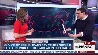 MSNBC reporter draws picture of United States resembling a penis after graphics fail to work