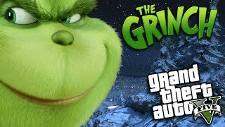 GTA 5 Mods - THE GRINCH MOD (GTA 5 PC Mods Gameplay)