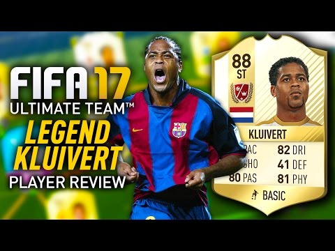FIFA 17 LEGEND KLUIVERT (88) *THE DUTCH DREAM* PLAYER REVIEW! FIFA 17 ULTIMATE TEAM!