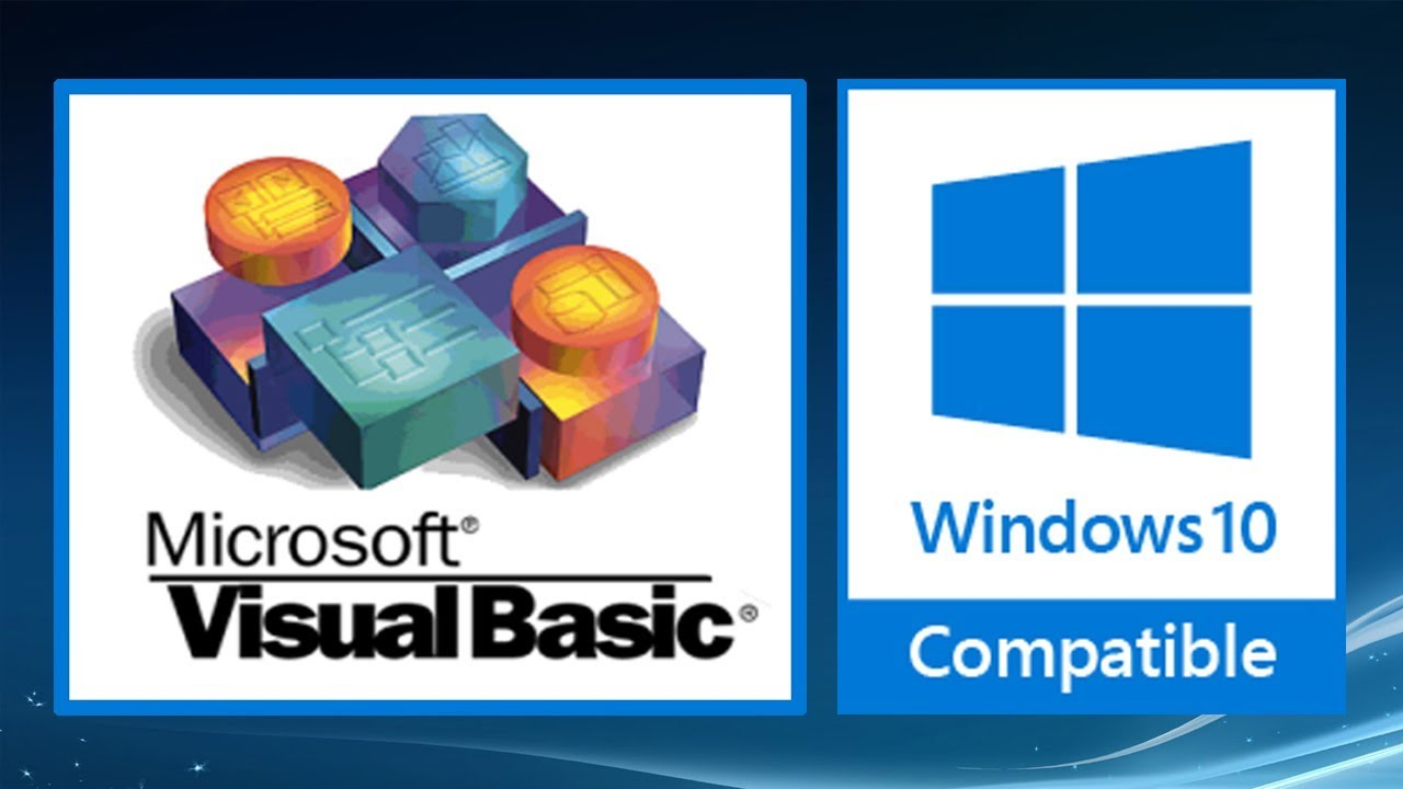 Easy Way Install Visual Basic 6 0 On Windows 10 Tested x86/x64