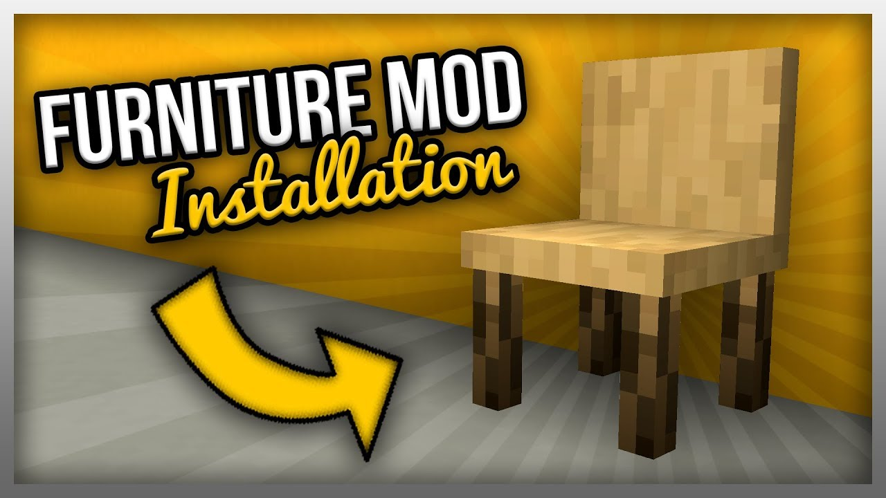 How To Install Furniture Mod For Minecraft 1 14 3 Youtube