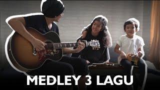 Saga Nyanyi Medley 3 Lagu | Feat Leticia