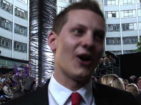 Hollyoaks' James Sutton at the British Soap Awards