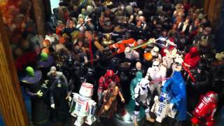 Star Wars toys old and new