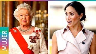 La Reina reprende a Meghan Markle por su vestuario