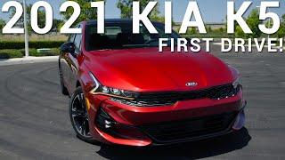 2021 Kia K5 | First Drive | Au…