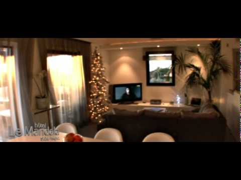 hotel luxe saint tropez hotel le mandala youtube. Black Bedroom Furniture Sets. Home Design Ideas