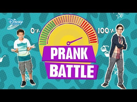 Liv and Maddie | Brothers PRANK Battle! | Disney Channel UK