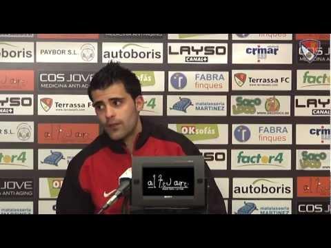 Roda de Premsa Terrassa FC - UD Cornella Jornada 26