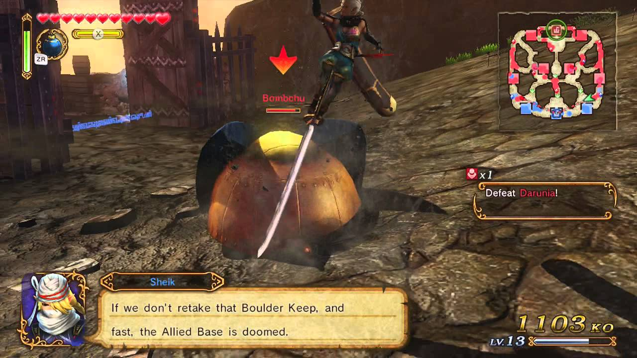 How to defeat gohma in hyrule warriors - Hyrule Warriors Part21 Kill The Bombchu Operators