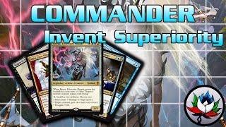 """Invent Superiority"" Commander 2016 Deck Tech and Upgrades featuring Breya – MTG!"
