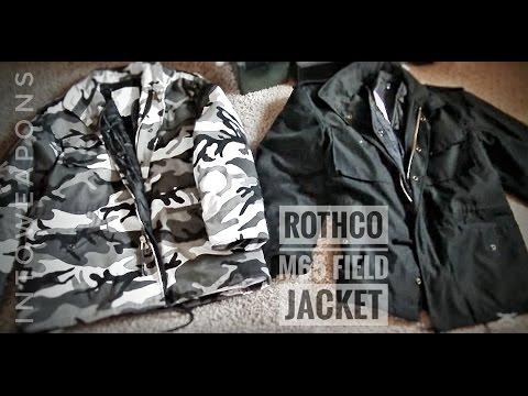 Rothco M65 Jacka Storm Nylon i Svart