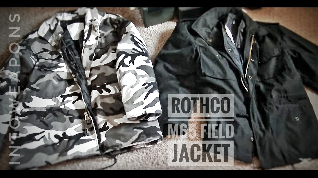 Rothco M-65 Jacket Review  City Camo   Black - YouTube 5a37746f4a8