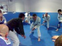 Chris Haueter at Factory BJJ - Seminar introduction/ stand up warm up drill