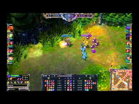 League of Legends Diamond 2.2k High Elo Ranked Full Game #2