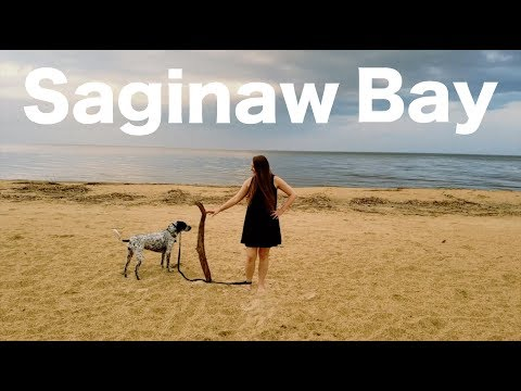 Saginaw Bay / THE BEACH IN MICHIGAN ~ (SOJOURN SOLEIL)