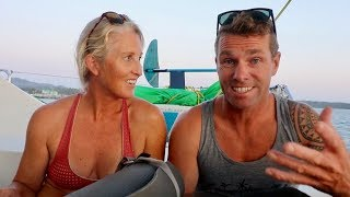 TWO on a BOAT? How We Keep our SANITY - KITES, BIKES, SUP, SCUBA