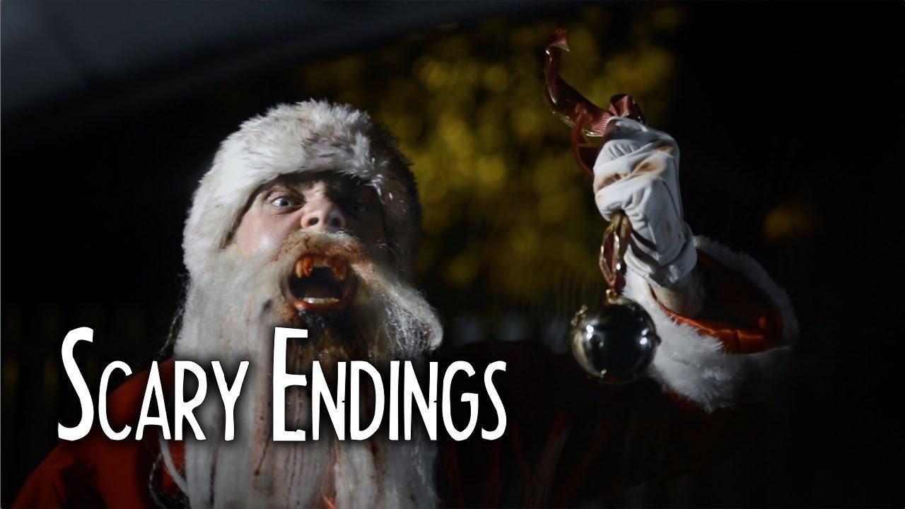 santa claus is a vampire short horror film