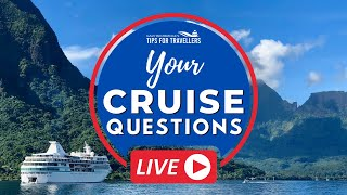 Cruise Questions Live #6: Friday 3 July