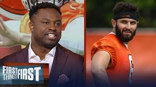 Bart Scott on reports Baker has 'floored' the Browns at training camp | NFL | FIRST THINGS FIRST