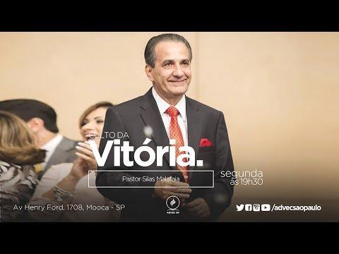 Culto Da Vitória   Pastor Silas Malafaia...