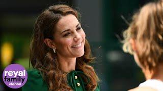 The Duchess of Cambridge Arrives at Wimbledon Ahead of Women's Final