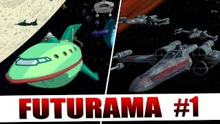 Futurama's Tribute to Cinema: Part 1 (#BringBackFuturama)